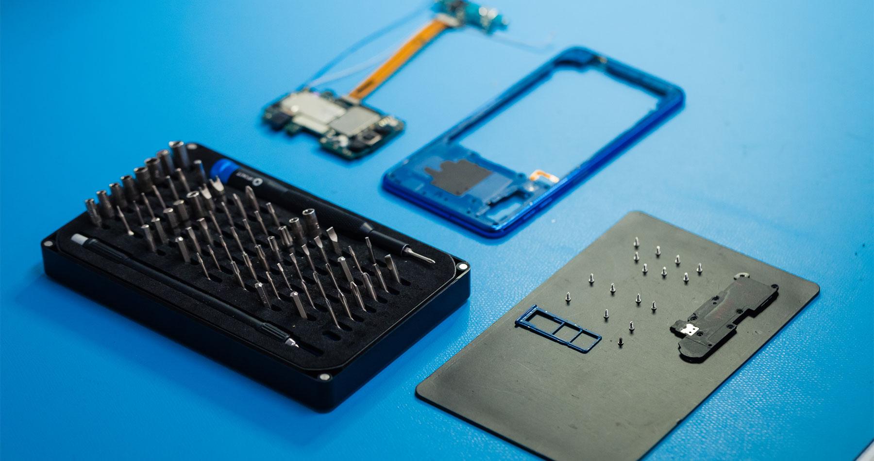 Tablet reparatie geheel naar wens